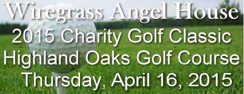 2015 Wiregrass Angel House Charity Golf Classic
