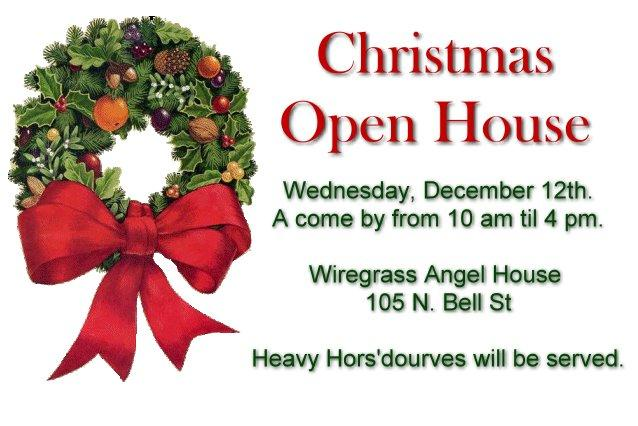 2012 Christmas Open House